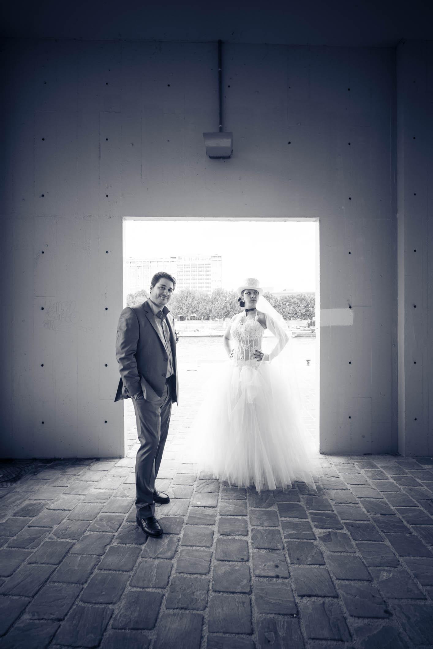 Reportage mariage rock